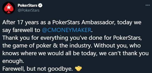 Razlaz nakon 17 godina: Chris Moneymaker i PokerStars
